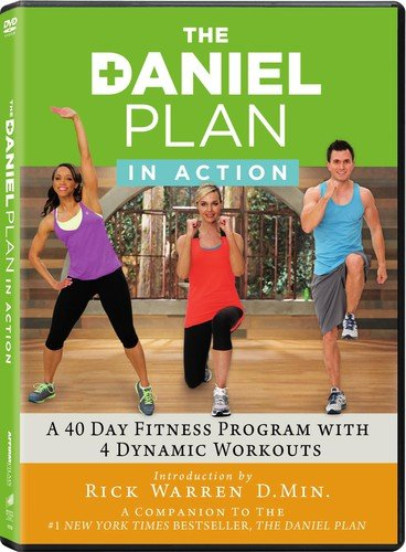 The Daniel Plan In Action: Complete 2-Disc DVD Workout Program