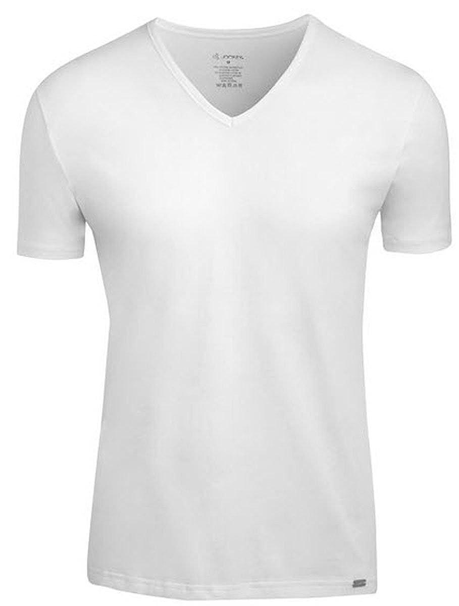 Black XL Jockey Modern Stretch V-Neck Shirt Pack of 2