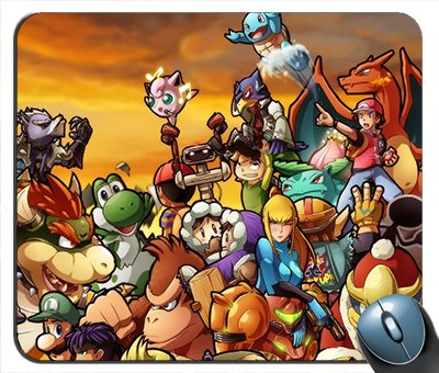 Kirby Pokemon Link Mario Pikachu Ganondorf Samus Aran Solid Snake Peach Squirtle Luigi The Legend Of Zelda Mouse - Link Pokemon