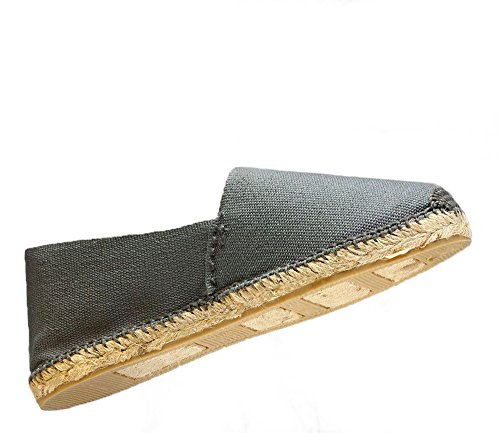 Women's Grey in Men's DIEGOS Hand Espadrilles Spain Made ZHwqqd7x0
