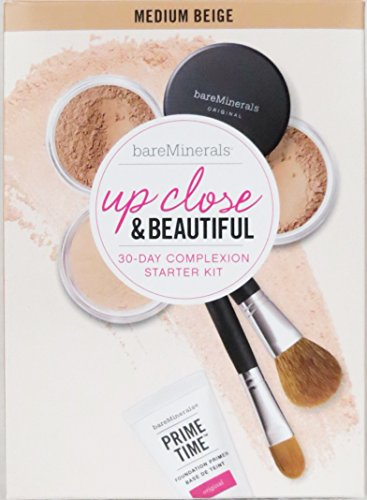 e & Beautiful 30-Day Complexion Starter Kit (Medium Beige) (Bareminerals Kit)