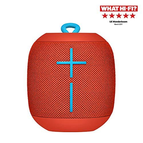 Ultimate Ears Wonderboom Portable Wireless Bluetooth Speaker Red