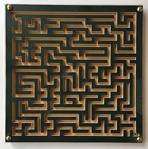Wood Maze Green