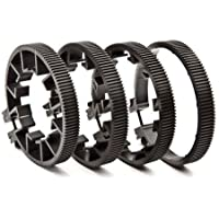 Redrock Micro microLensGears Kit with 4 Lens Gears (Size A, B, C and D Black Lens Gear)