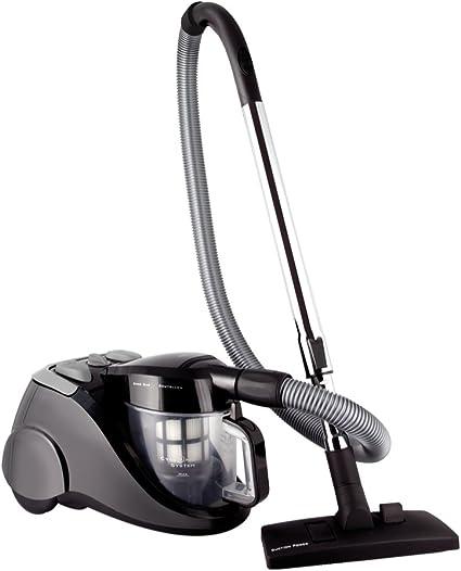 Solac ENARA II AS3101 - Aspiradora (1800W, 350W, Electrónico, Cilindro, Sin bolsa, Metal) Negro: Amazon.es: Hogar