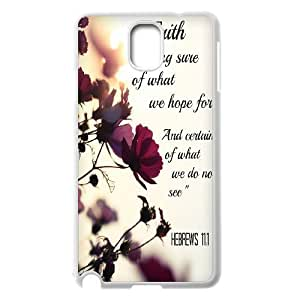 wugdiy Custom Case for Samsung Galaxy Note 3 N9000 with Personalized Design christian verses