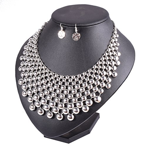 Yuhuan Jewelry Set Women Fashion Statement Necklace Earrings Sets Collar Chokers Necklace