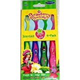 Strawberry Shortcake Suction Cup Toothbrush - 4 count
