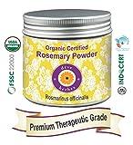 Deve Herbes Organic Certified Rosemary Powder (Rosmarinus officinalis) 200GM