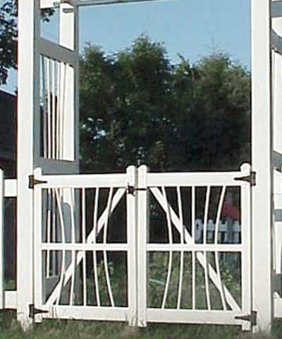 Courtyard Arbor Gate