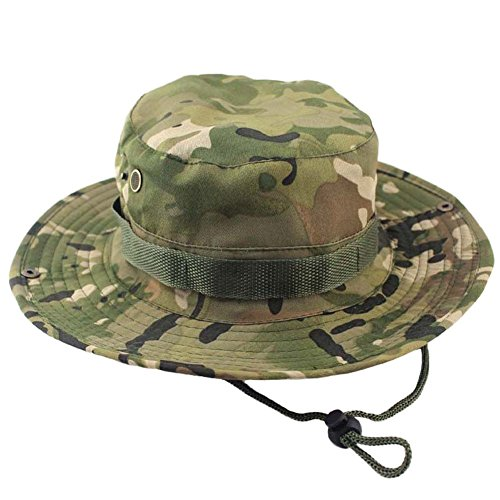 (Tanming Outdoor Camouflage Hat/Boonie/Fisherman Hat (CP))