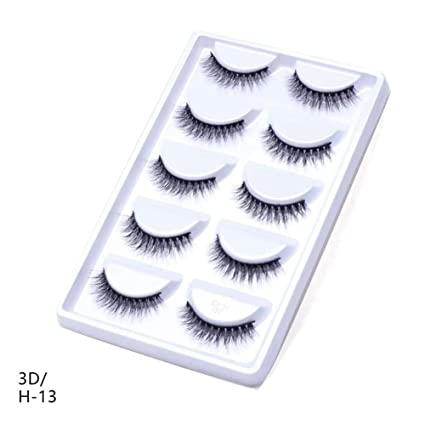 5a7770dbf5e Là Vestmon Self-Adhesive Eyelashes Pack - 3D False Eyelashes Non-Irritating  Lashes Strips