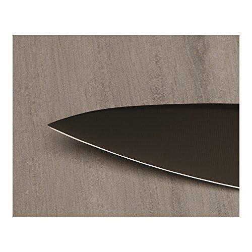 Kuhn Rikon 4-Inch Colori Titanium Paring Knife, Black/Silver by Kuhn Rikon (Image #3)