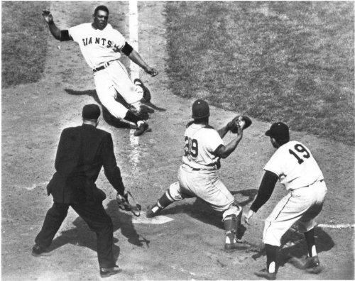 Willie Mays NY Giants 8x10 Photo #6