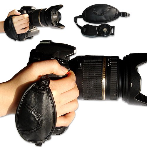 first2savvv new Artificial leather digital camera SLR han...