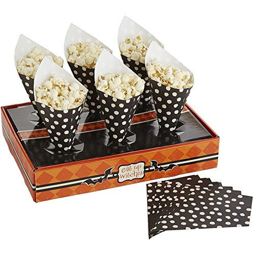 Pier 1 Imports Halloween Treat Stand with Cones-12 Cones & Stand (Treat Cone Stand compare prices)