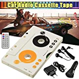 Gavita-Star - Newest V intage Car Tape Cassette SD MMC MP3 Player Adapter Kit With Remote Control