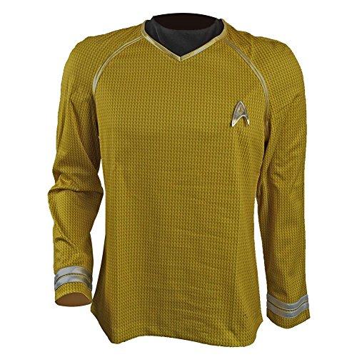 Captain Kirk Costume (Allten Men's Costume Star Trek Into Darkness Captain Kirk Shirt XL)