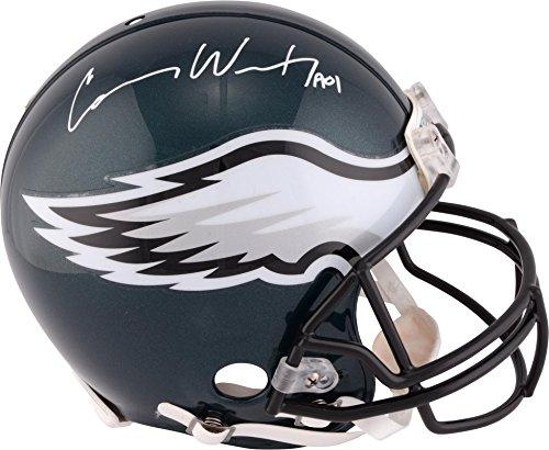 Carson Wentz Philadelphia Eagles Autographed Riddell Pro-Line Helmet - Fanatics Authentic Certified - Autographed NFL Helmets ()