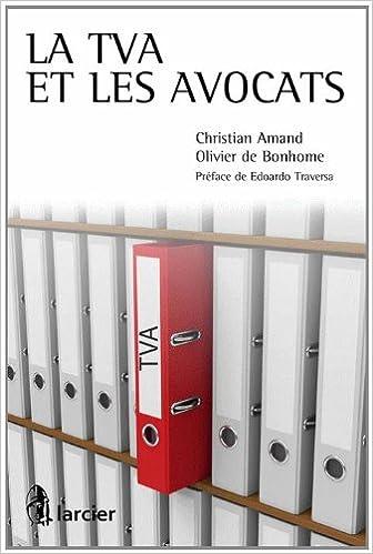 Livres La Tva et les Avocats pdf, epub