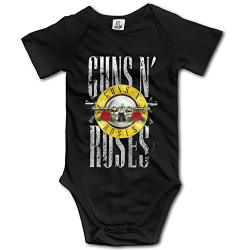 Baby Boys Girls Guns N' Roses NOT IN THIS LIFETIME Onesies Newborn Clothes