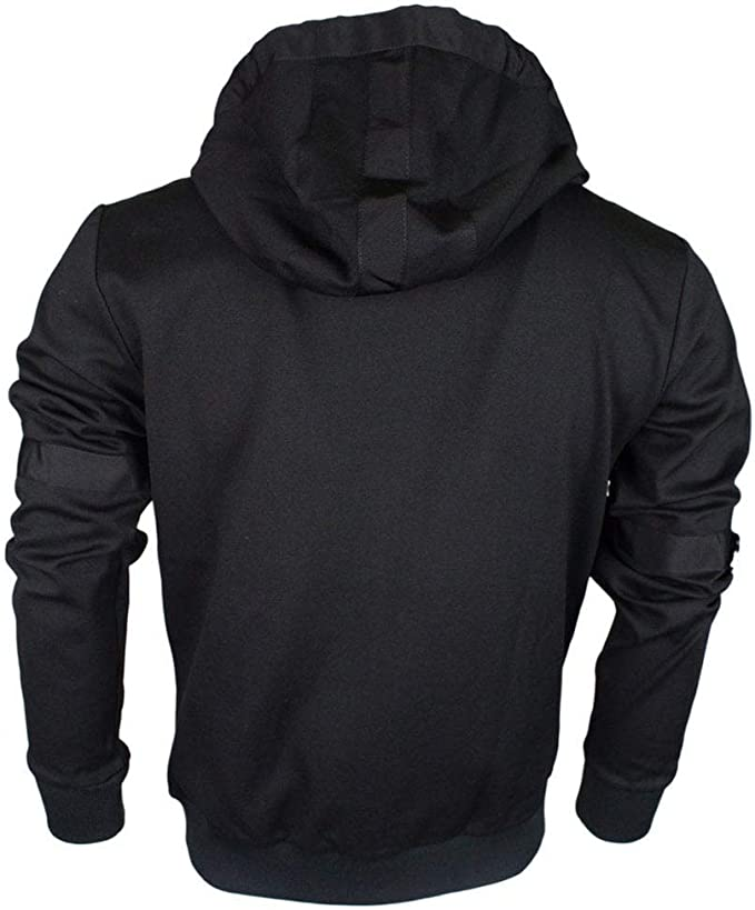 Abetteric Mens Juniors Oversize Hooded Outdoor Sweater Hoodie Top