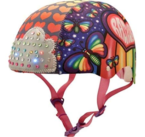 Raskullz Girls Loud Cloud Sparklez Helmet Ages 8+