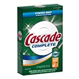 Cascade Complete All-In-1 Powder Dishwasher Detergent, Citrus Breeze Scent 45 Oz (Pack of 12)