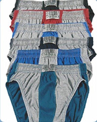 6er Pack Herrenslip, Herrenschlüpfer, Unterhosen, in 12