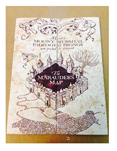 Marauder s Map Hogwarts Wizarding World Harry Potter Warner Bros LIMITED **NEW**