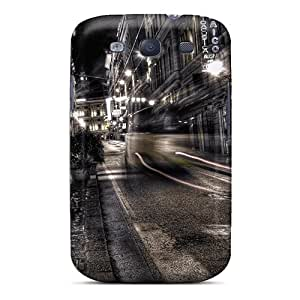 HugeOfficial Design High Quality Grey Night Hdr Cover Case With Excellent Style For Galaxy S3
