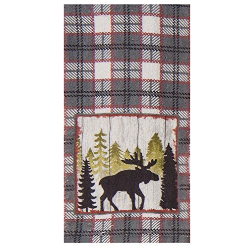 Montana Dish Towel (Kay Dee Designs R3300 Simple Living Moose Terry Towel)