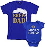 Best Dad Gifts For Fathers Daddies - Threadrock Brew Dad & Micro Brew Infant Bodysuit Review