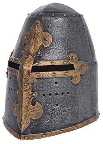Casque de Chevalier Medieval. Jouet