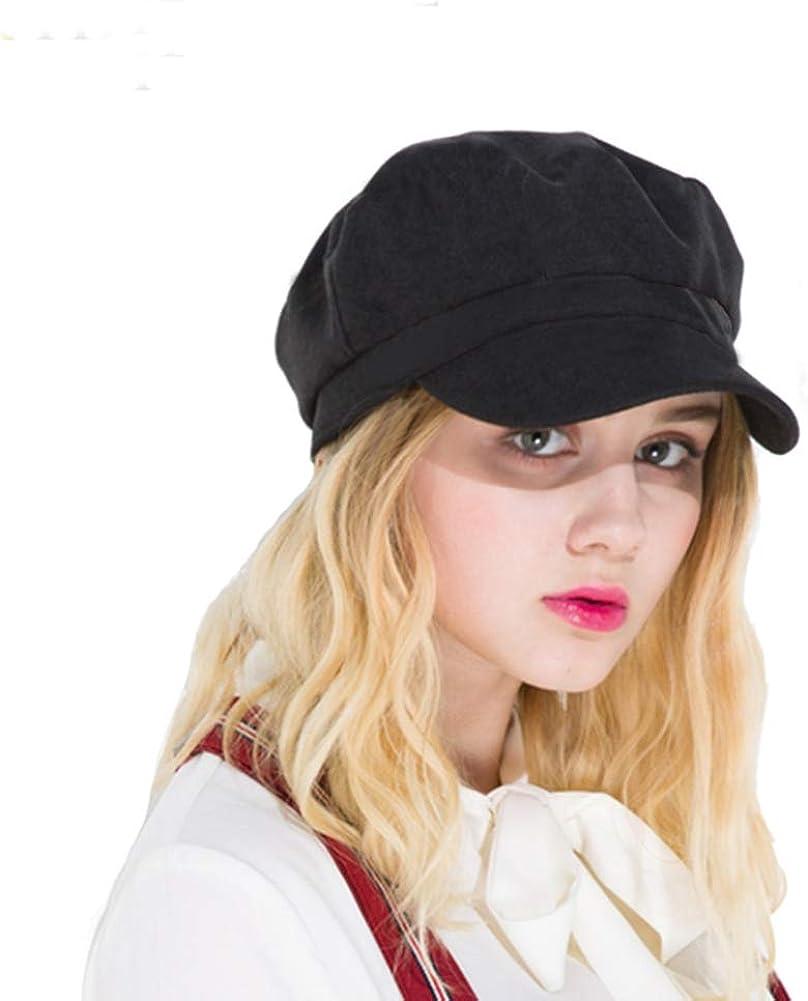 SIYWINA Cappello Visiera Donna Basco Scozzese Newsboy cap Cabbie Hat