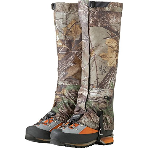 (Outdoor Research Men's Rocky Mountain High Gaiters, Realtree Xtra, Large)