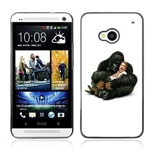 Designer Depo Hard Protection Case for HTC One M7 / Gorilla Hugging Seth Green