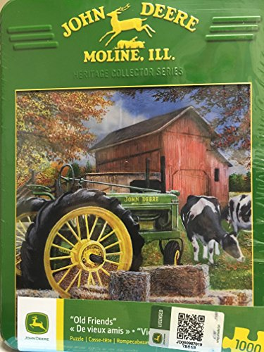 Master Pieces Puzzle John Deere Old Friends - Model B Tra...