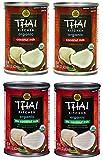 Assorted Thai Kitchen Organic Coconut Milk Variety Pack, 4 count