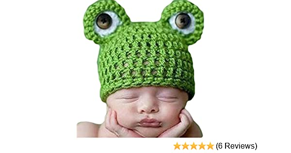 VISKEY Baby Newborn Infant Boy Girl Knit Crochet Costume Photo Photography Prop Outfit