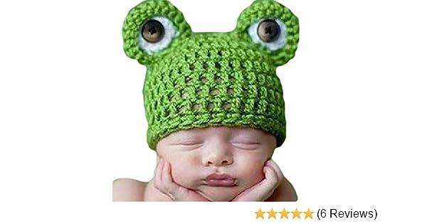 VISKEY Baby Newborn Infant Boy Girl Knit Crochet Costume Photo Photography Prop Outfit