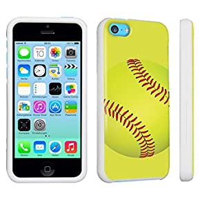 DuroCase ? Apple iPhone 5c Hard Case White - (Softball)