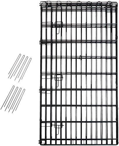 AmazonBasics Foldable Metal Pet Exercise and Playpen with Door, 48'' by AmazonBasics (Image #3)