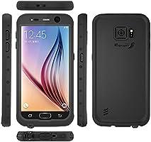 Samsung Galaxy S6 Waterproof Case, Meritcase Galaxy S6 IP68 Full Body  Waterproof Dirt Proof Snowproof Shockproof Case for Outdoor Swimming  Surfing