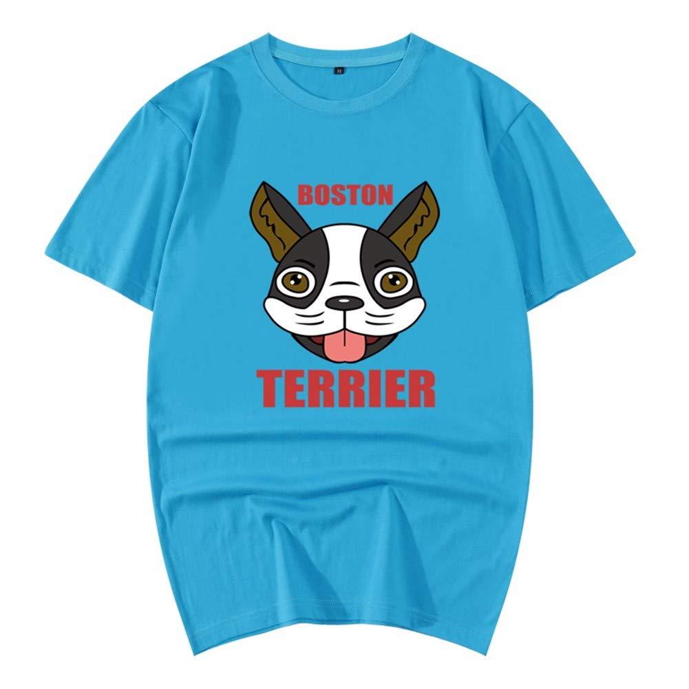 3D-Pullover 2018 Rotes Kleid Baumwolle Sommer Kurzarm T-Shirt Lose 3D Tier Muster Herren Hemd 185   2XL Cyan 3