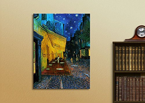 Cafe Terrace at Night Vincent Van Gogh Wall Decor