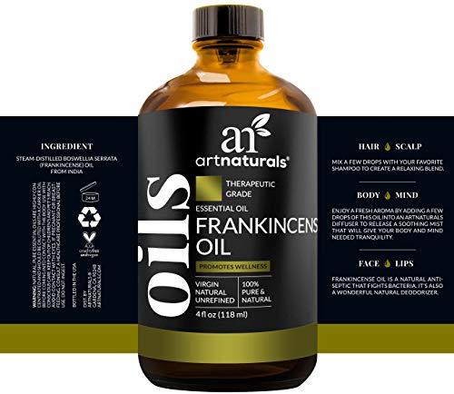 Art Naturals Frankincense Essential Oil – Large 4 oz – 100% Pure & Natural Undiluted Therapeutic Grade -Best Premium Quality Oil