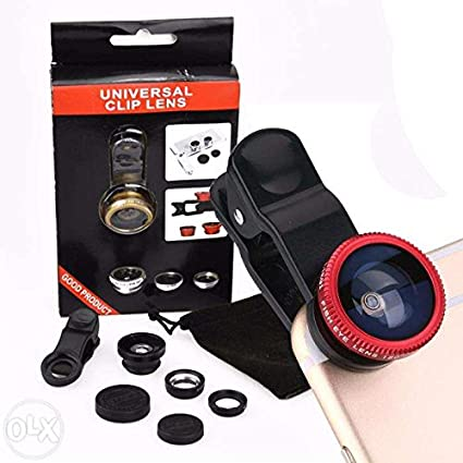 Fleejost™ Universal 3 in 1 Cell Phone Camera Lens: Amazon in