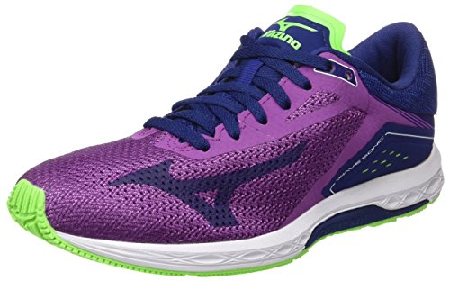 Femme Blueprint de Mizuno Running Sonic Multicolore Chaussures Hyacinthviolet Wave Wos Violet Greengecko wnaSYOq