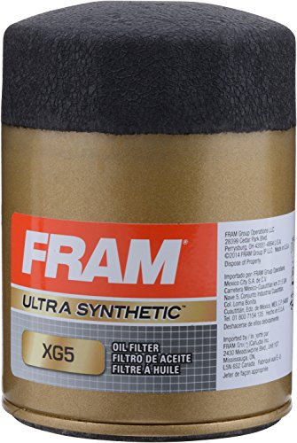 FRAM XG5 Ultra Synthetic Spin-On Oil Filter with Sure Grip